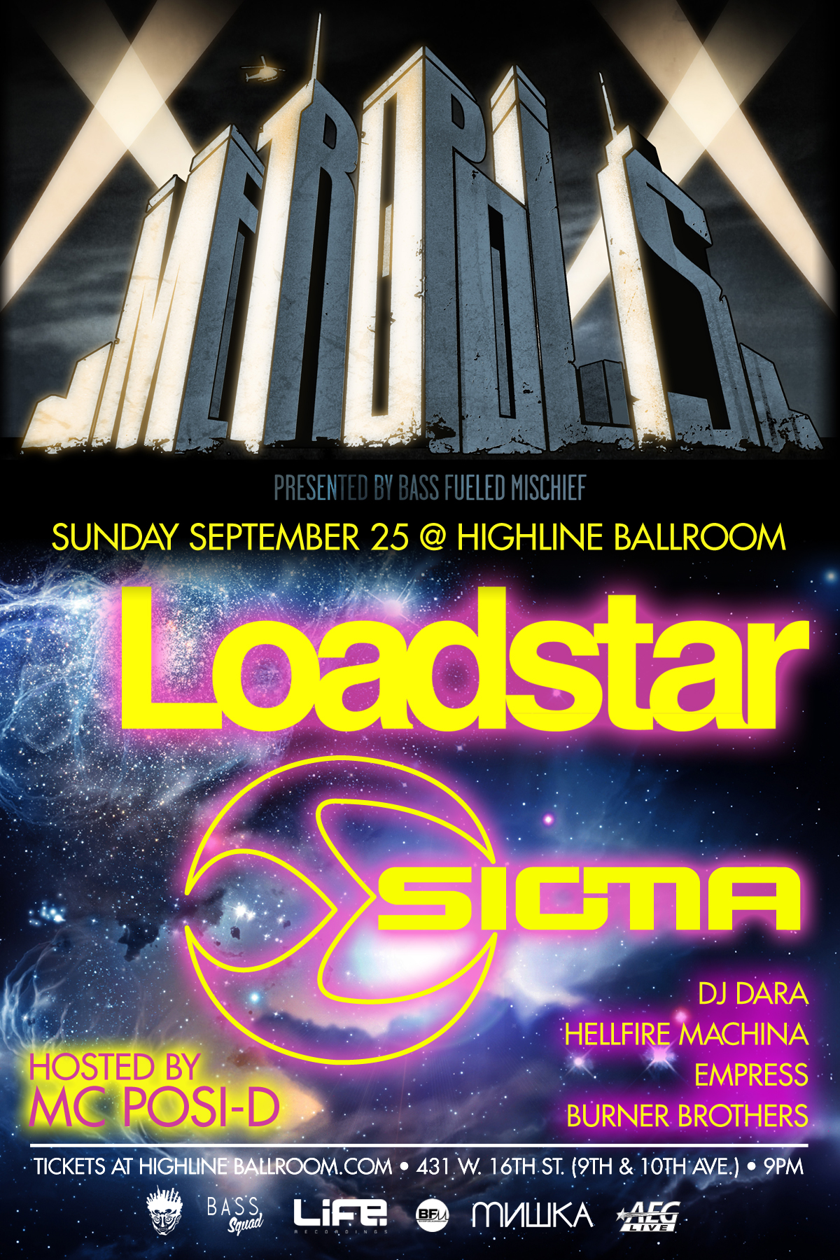 loadstar and sigma